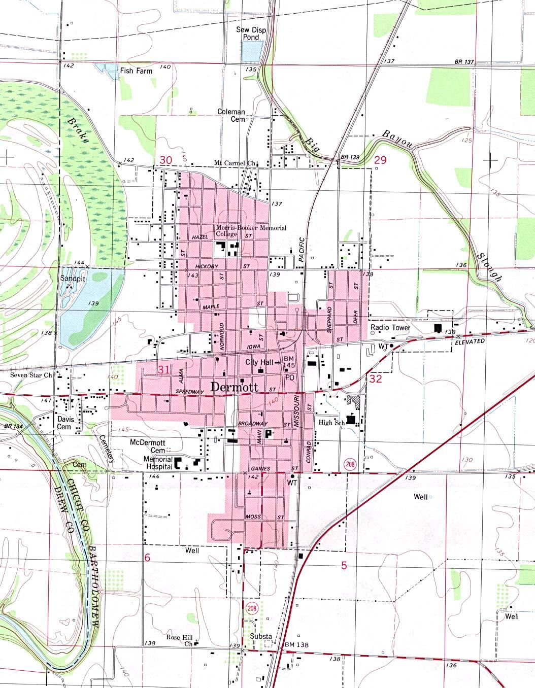 Arkansas Maps PerryCastañeda Map Collection UT Library Online - Arkansas maps
