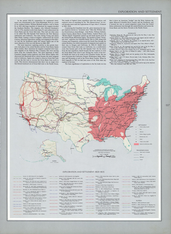 United States Map 1820