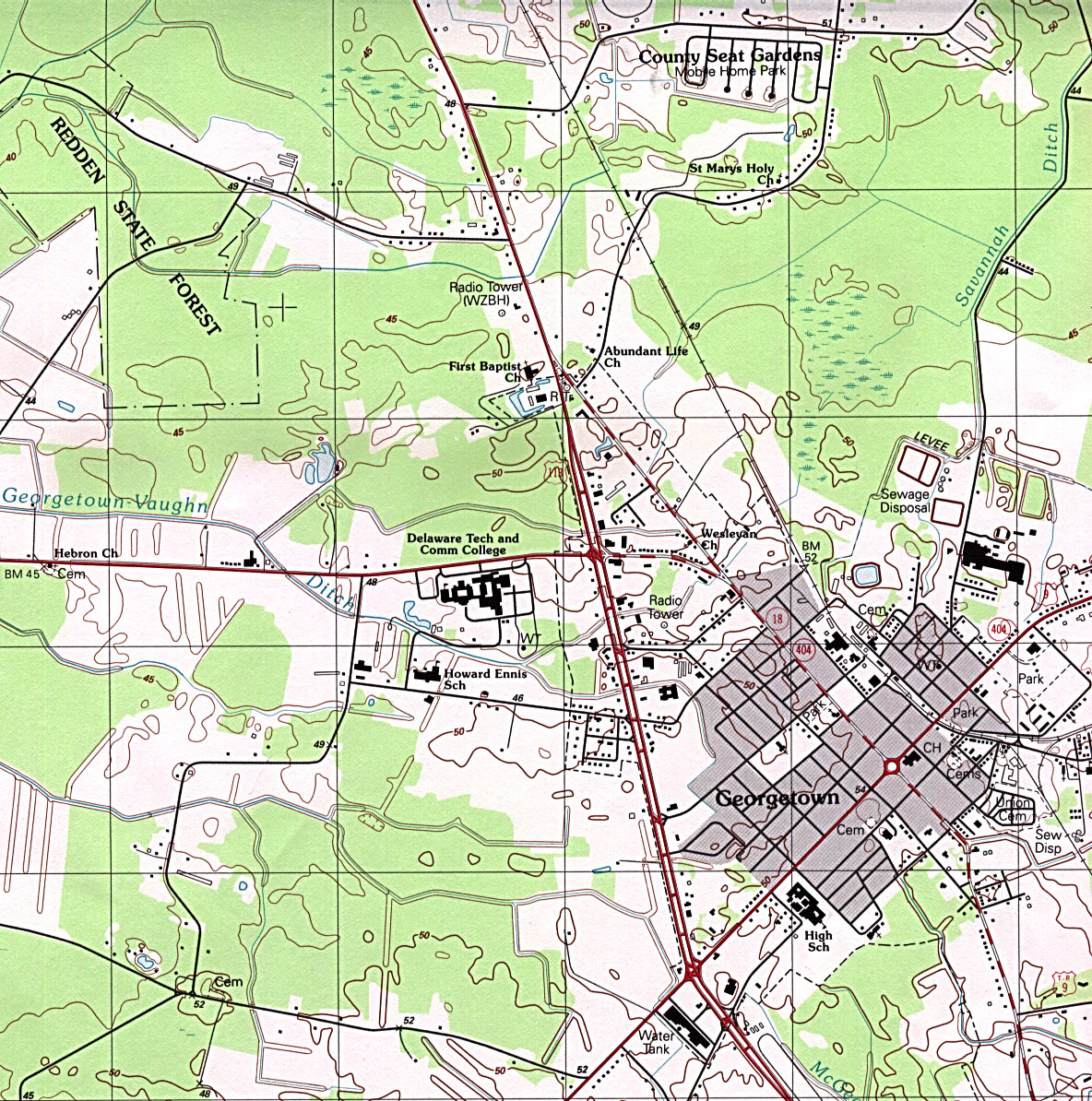 Delaware Maps - Perry-Castañeda Map Collection - UT Library Online