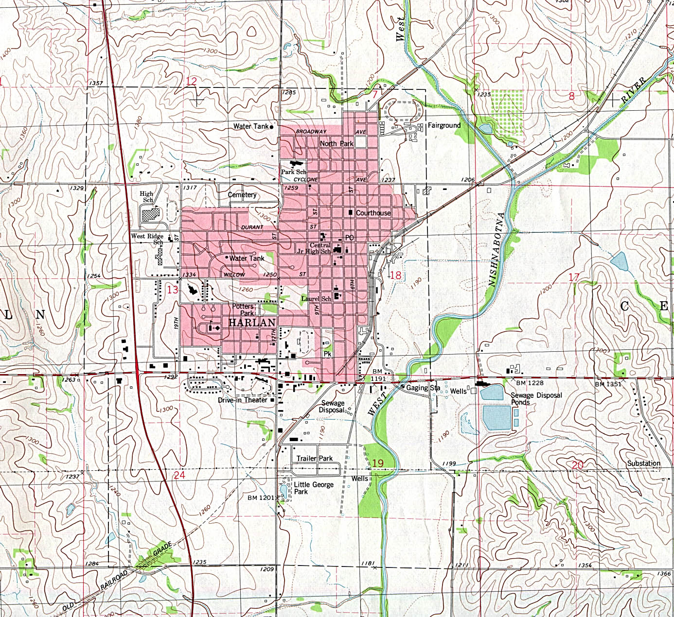 Iowa Maps Perry Castaneda Map Collection Ut Library Online