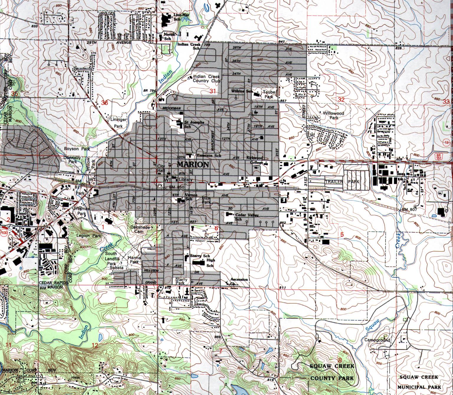 State Of Iowa Mapsof Interstate Highways Cities Typography - Map of iowa city