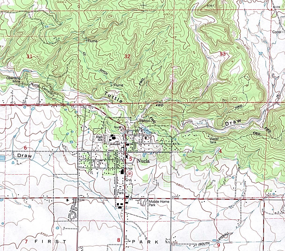 Colorado Elevation: Perry-Castañeda Map Collection