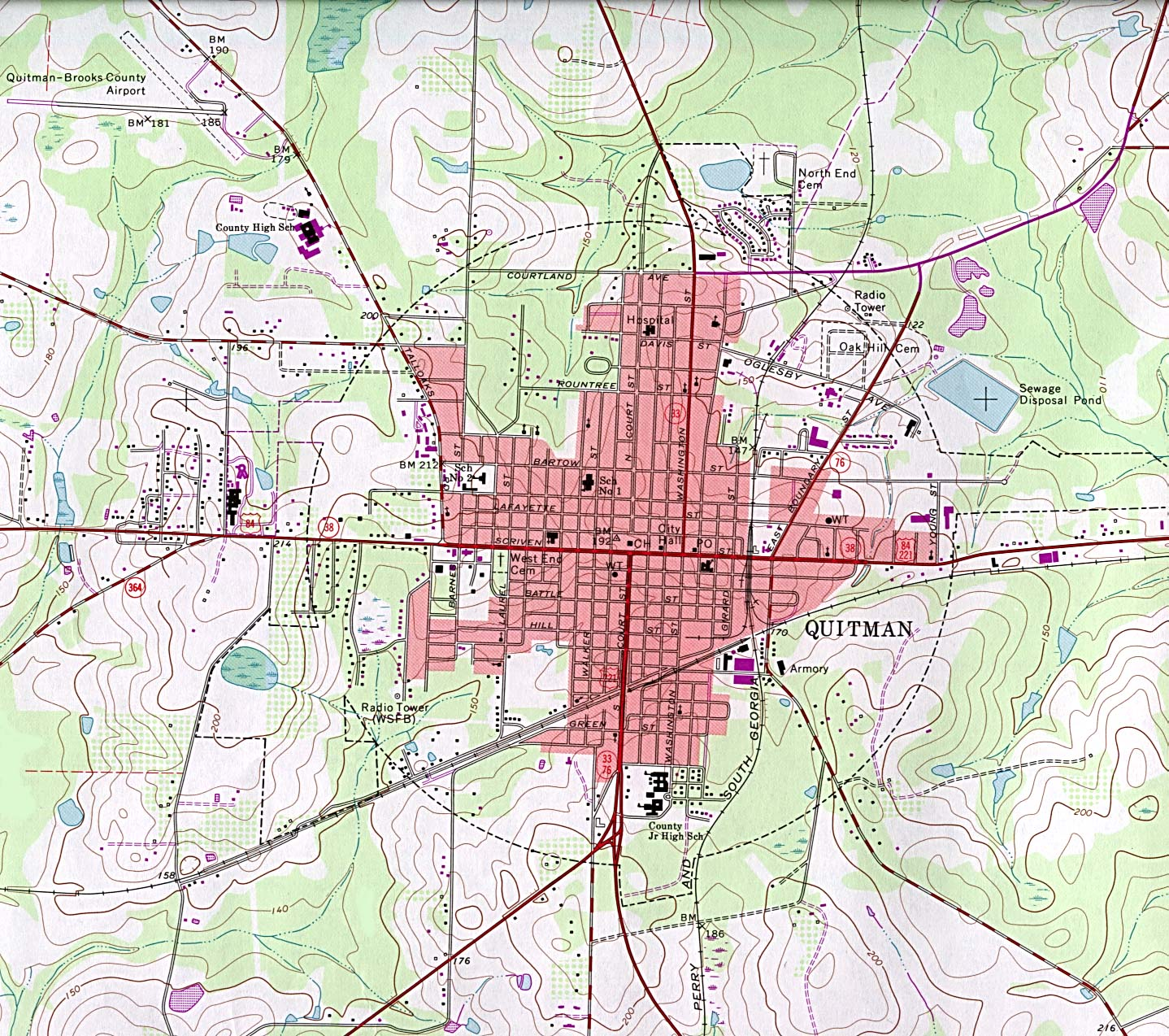 Map Of Quitman Tx.Georgia Maps Perry Castaneda Map Collection Ut Library Online