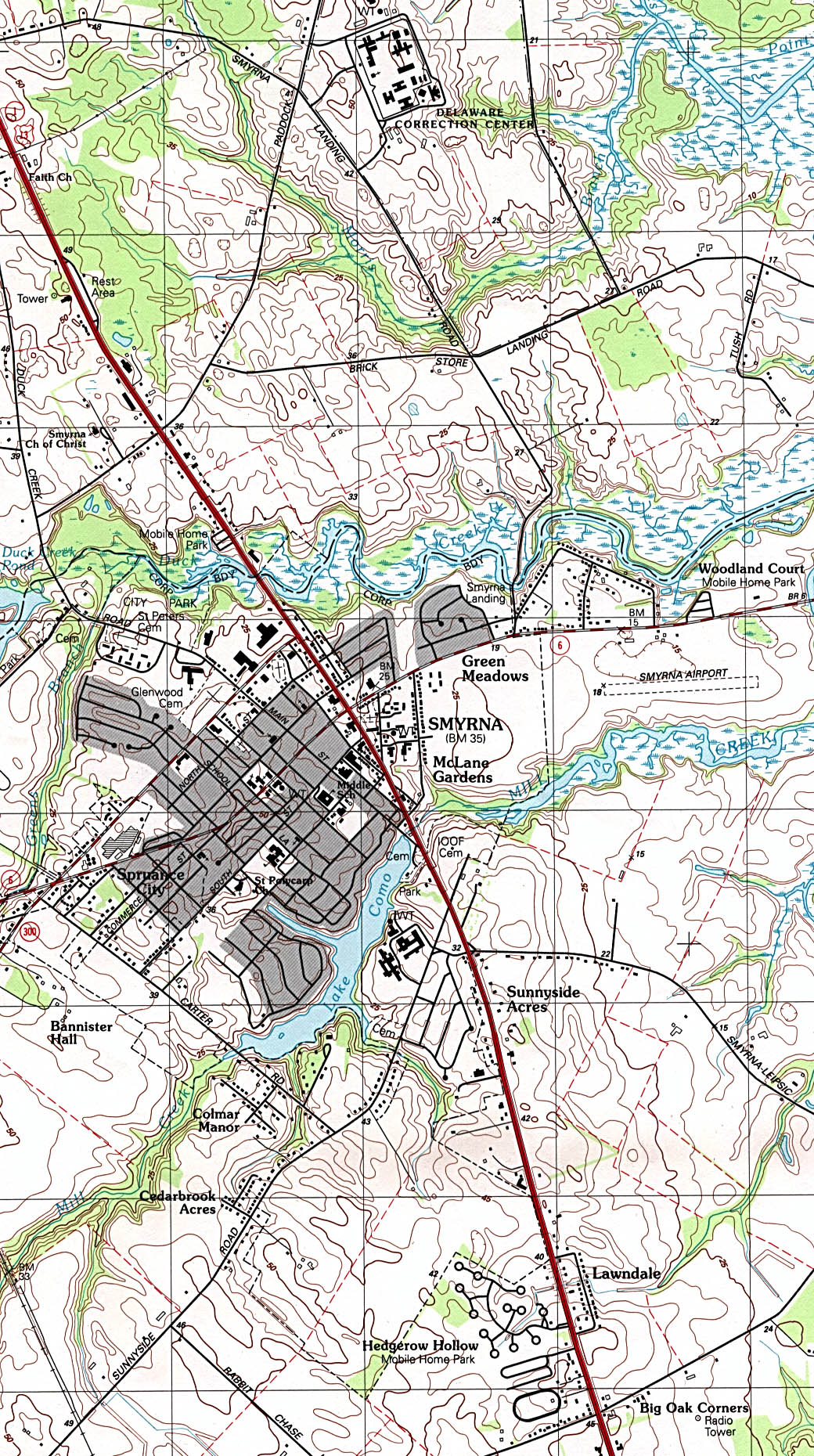 Delaware Maps PerryCastaeda Map Collection UT Library Online