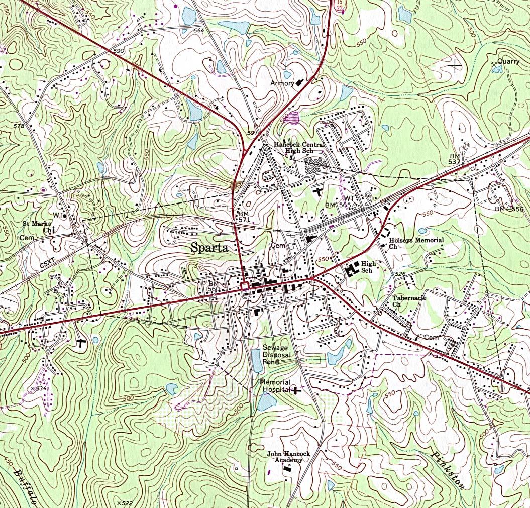 Georgia Maps PerryCastañeda Map Collection UT Library Online - Ga map