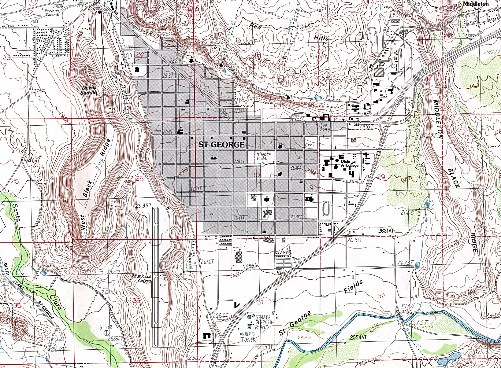 Utah Maps PerryCastaeda Map Collection UT Library Online