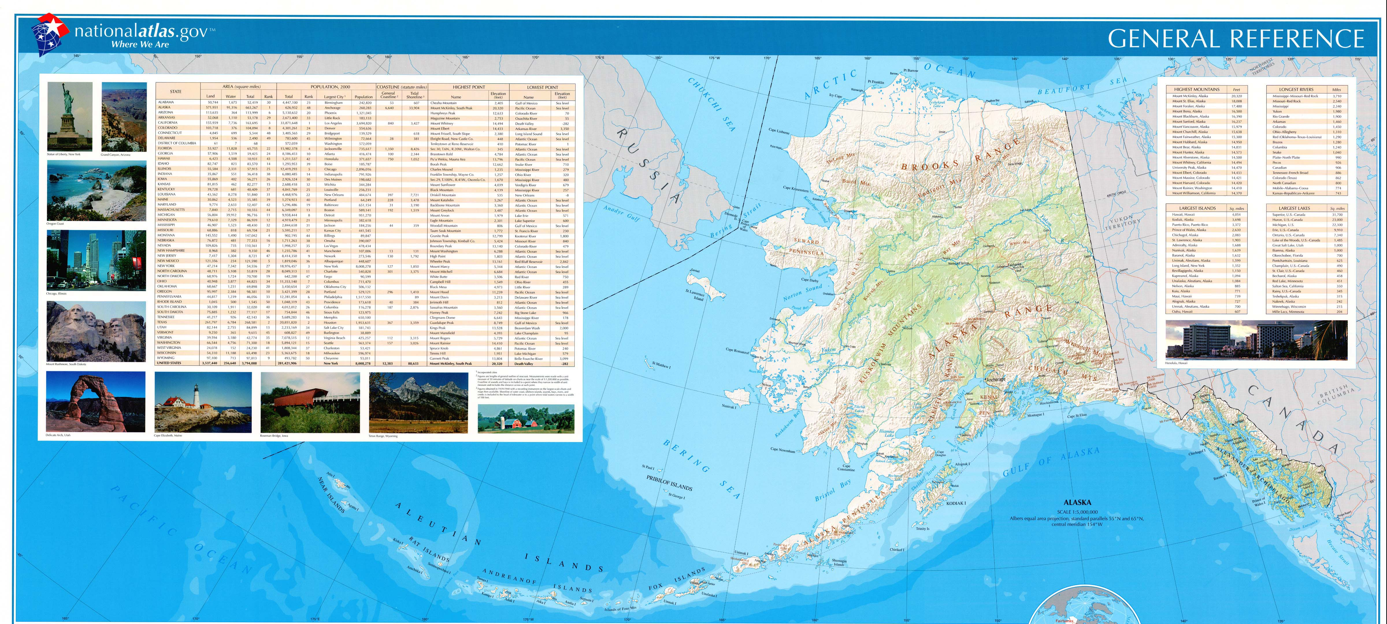 Alaska Tourist Attractions Juneau Fairbanks State Parks – Alaska Tourist Map