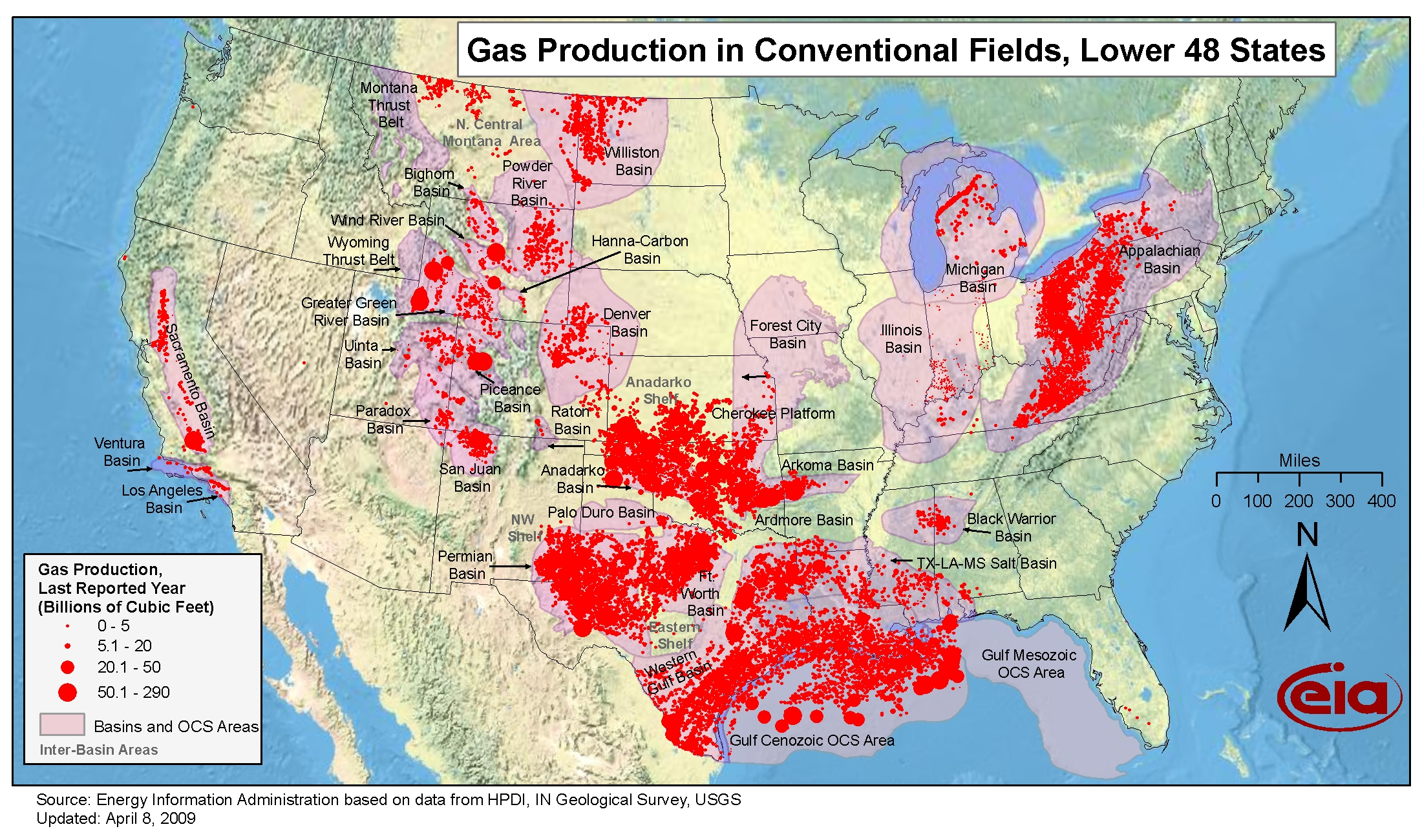 united states oil reserves map Oil and Gas Maps   Perry Castañeda Map Collection   UT Library Online