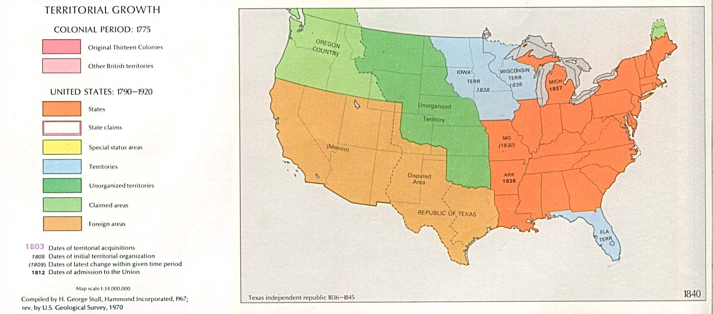 United States Historical Maps - Perry-Castañeda Map Collection - UT ...