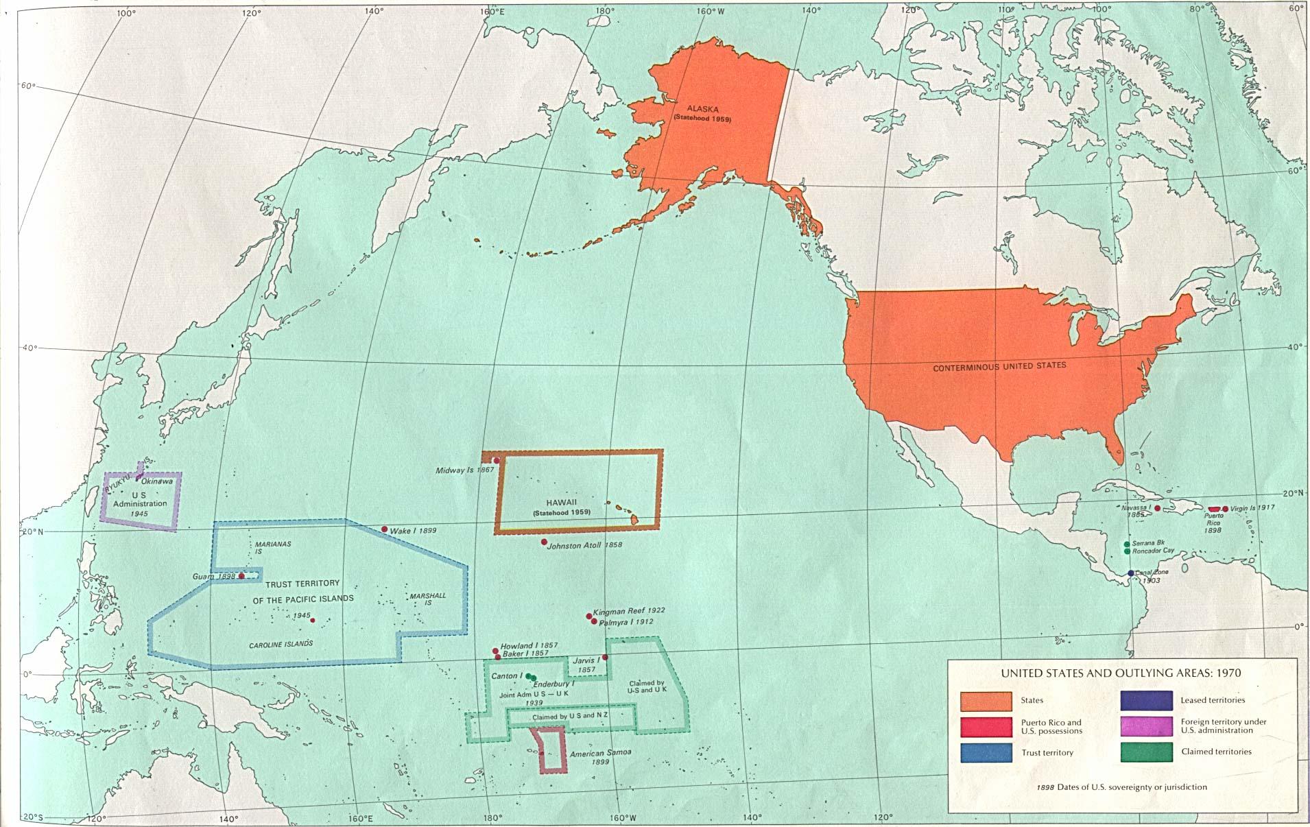 United States Map Scrapbook Paper