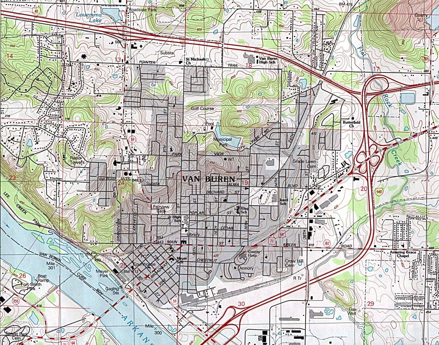 Arkansas Maps - Perry-Castañeda Map Collection - UT Library Online