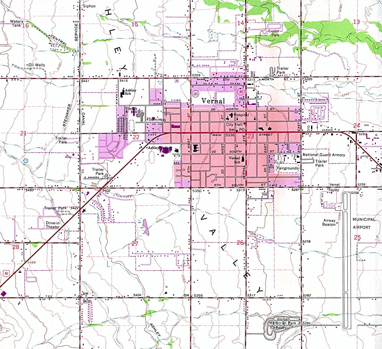 Utah Maps Map Collection UT - Utah in us map