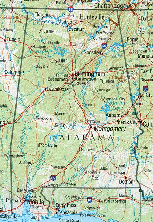 Alabama Maps - Perry-C...
