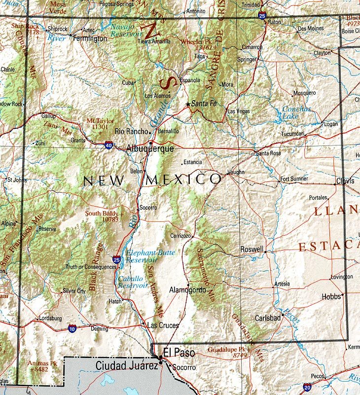 New Mexico Maps Perry Casta eda Map Collection UT Library Online