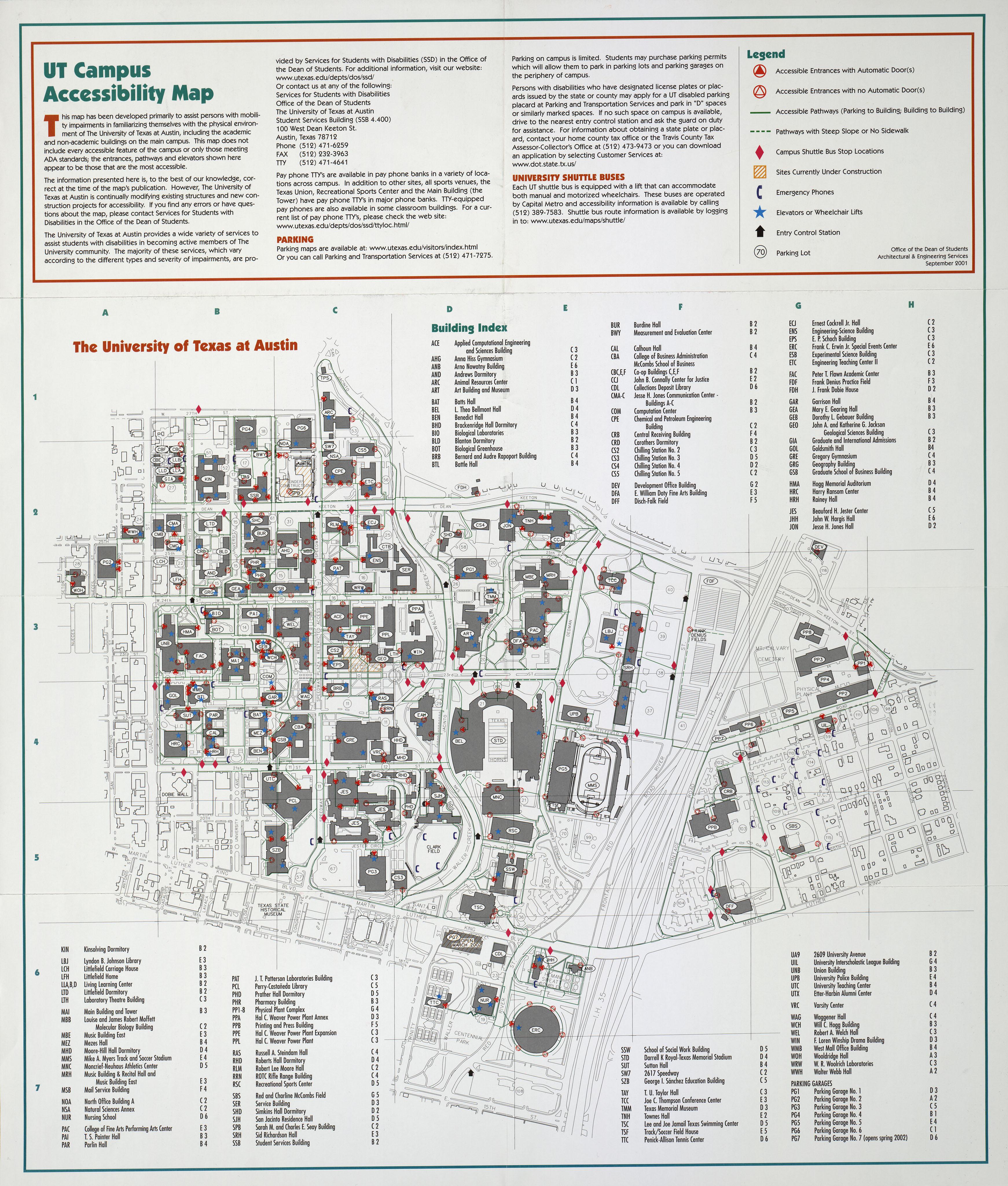Map Of Texas University Austin.Historical Campus Maps University Of Texas At Austin Perry
