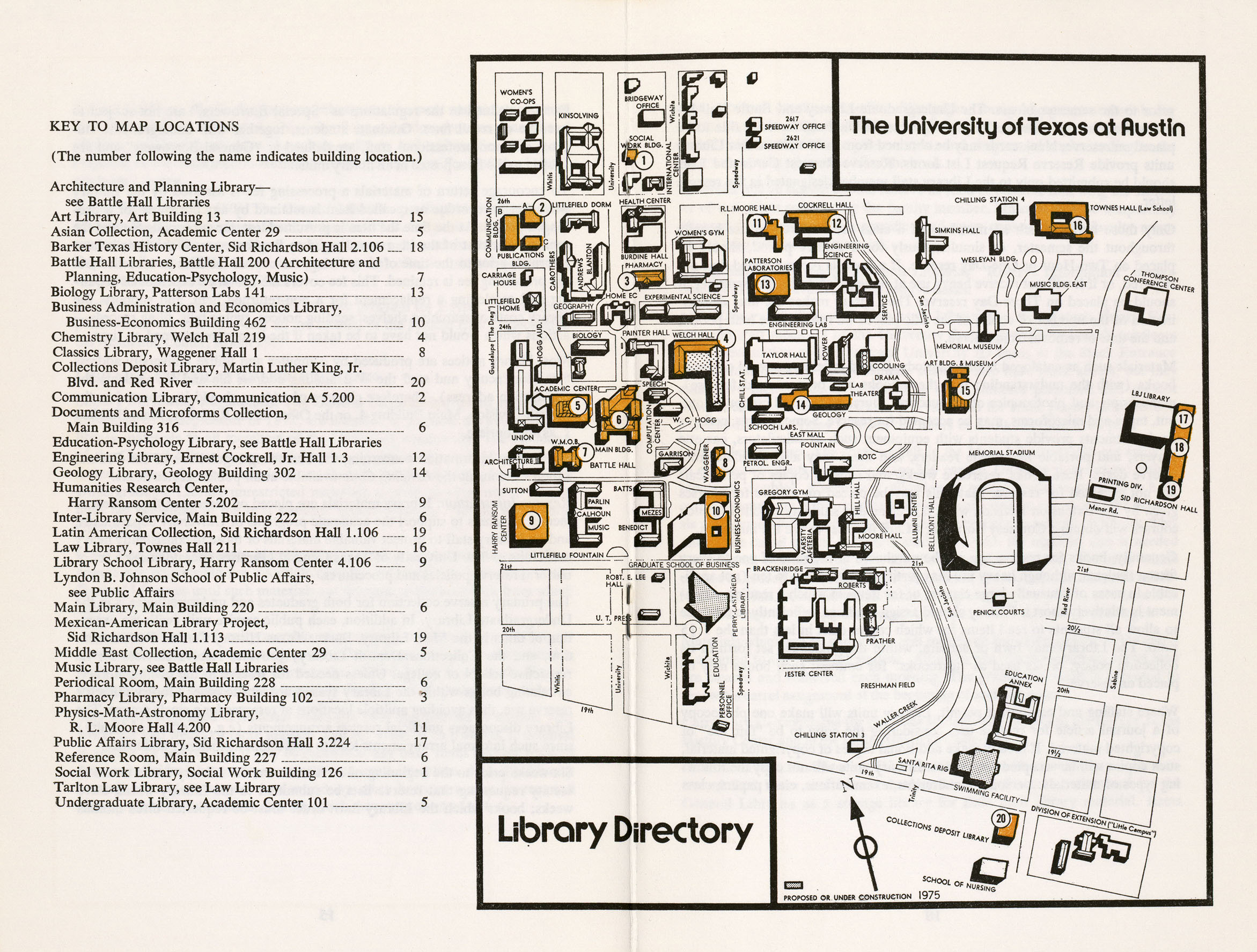 Map Of University Of Texas Austin Historical Campus Maps University of Texas at Austin   Perry