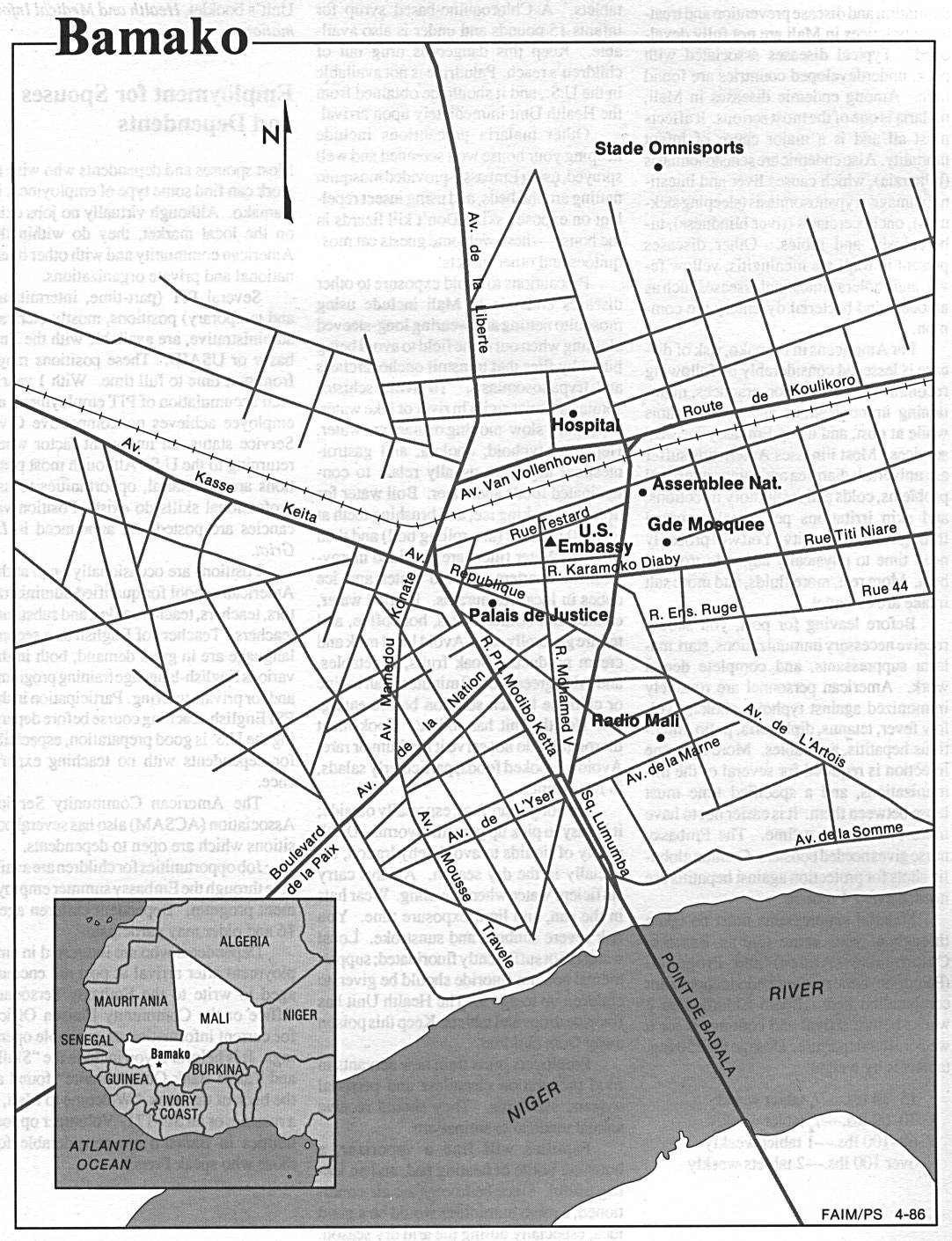 Mali Maps PerryCastañeda Map Collection UT Library Online - Mali map