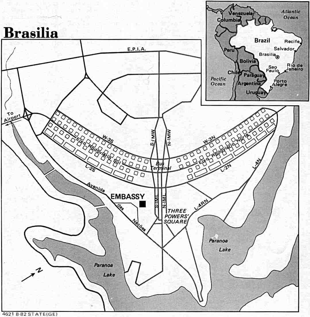 Brazil Maps Perry Castaneda Map Collection Ut Library Online