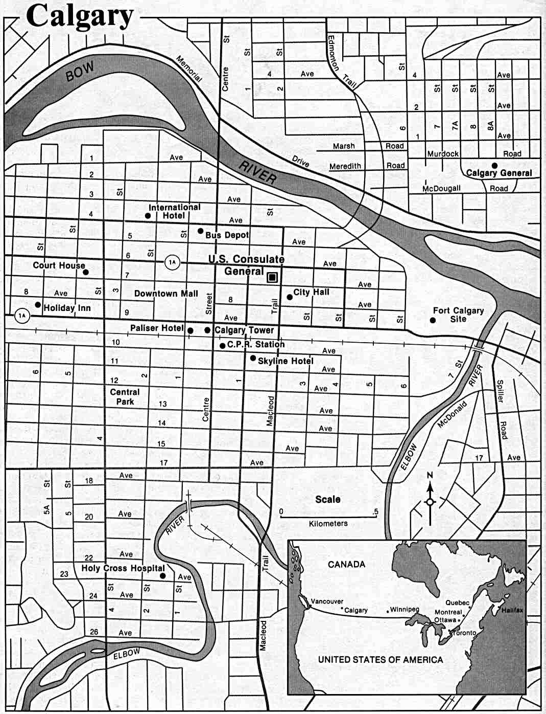 Calgary On Map Of Canada.Canada Maps Perry Castaneda Map Collection Ut Library Online