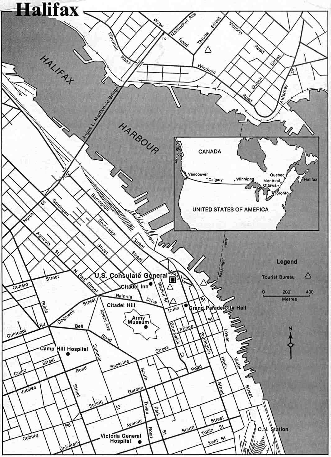 Halifax Nova Scotia Canada Map.Canada Maps Perry Castaneda Map Collection Ut Library Online