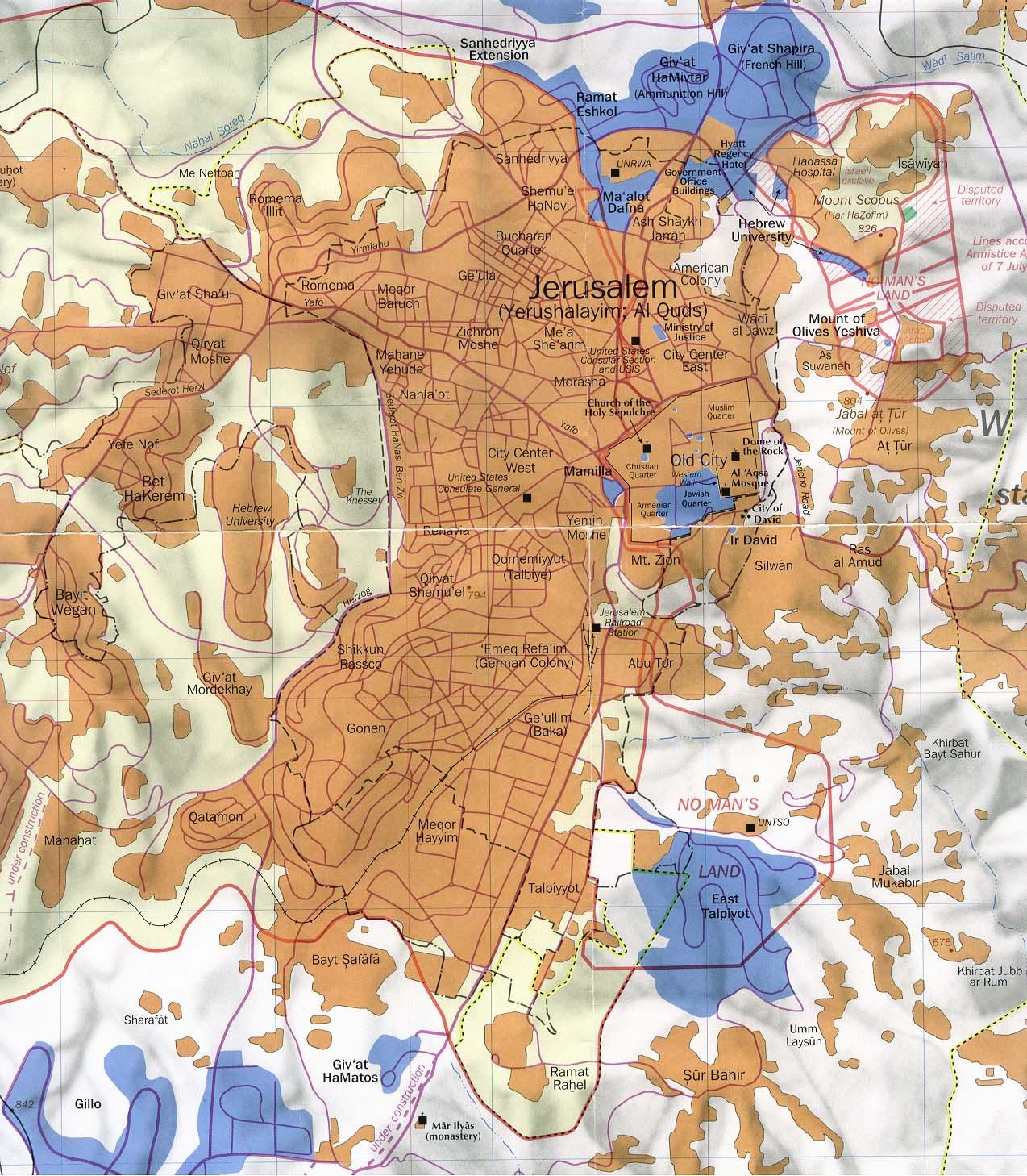 Kaart Map Plattegrond
