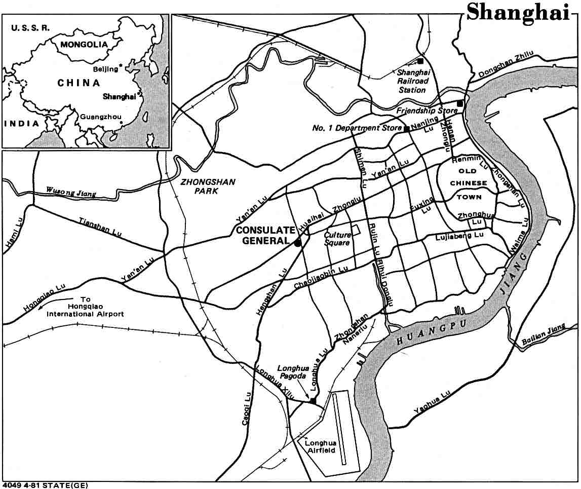 China Maps PerryCastañeda Map Collection UT Library Online - Shanghai on map with us