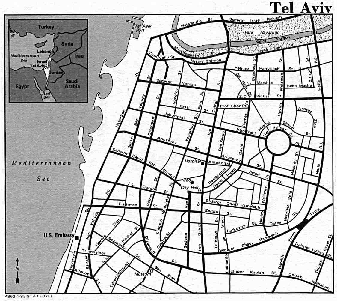 Tel Aviv Jerusalem Karte.Historical Maps And Atlases