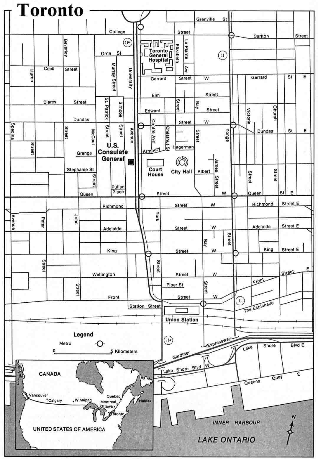 Map Of Canada Toronto Ontario.Canada Maps Perry Castaneda Map Collection Ut Library Online