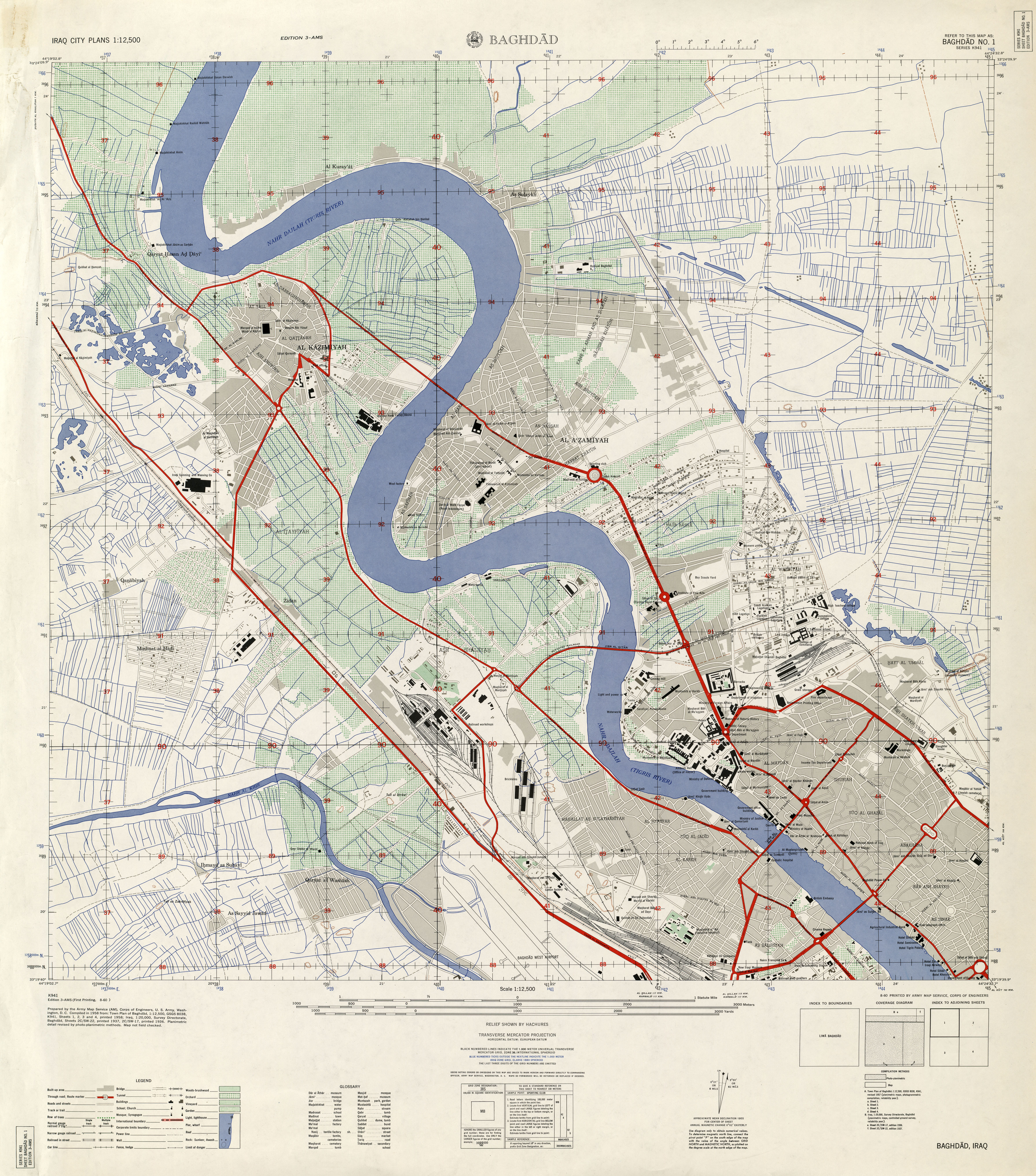 Iraq Maps Perry Castaneda Map Collection Ut Library Online