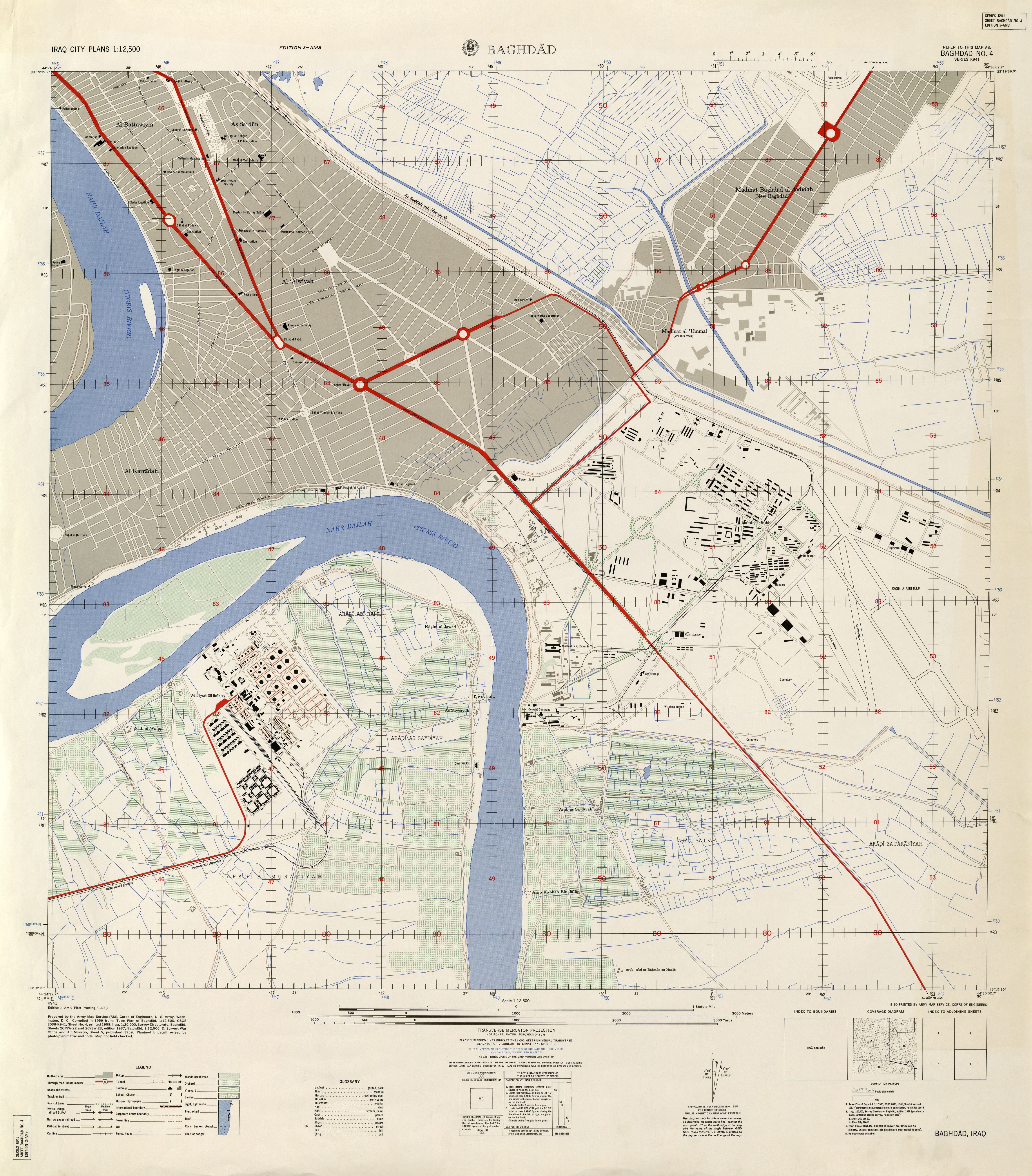 4 112500 edition 3 ams series k941 us army map service 1958 57mb