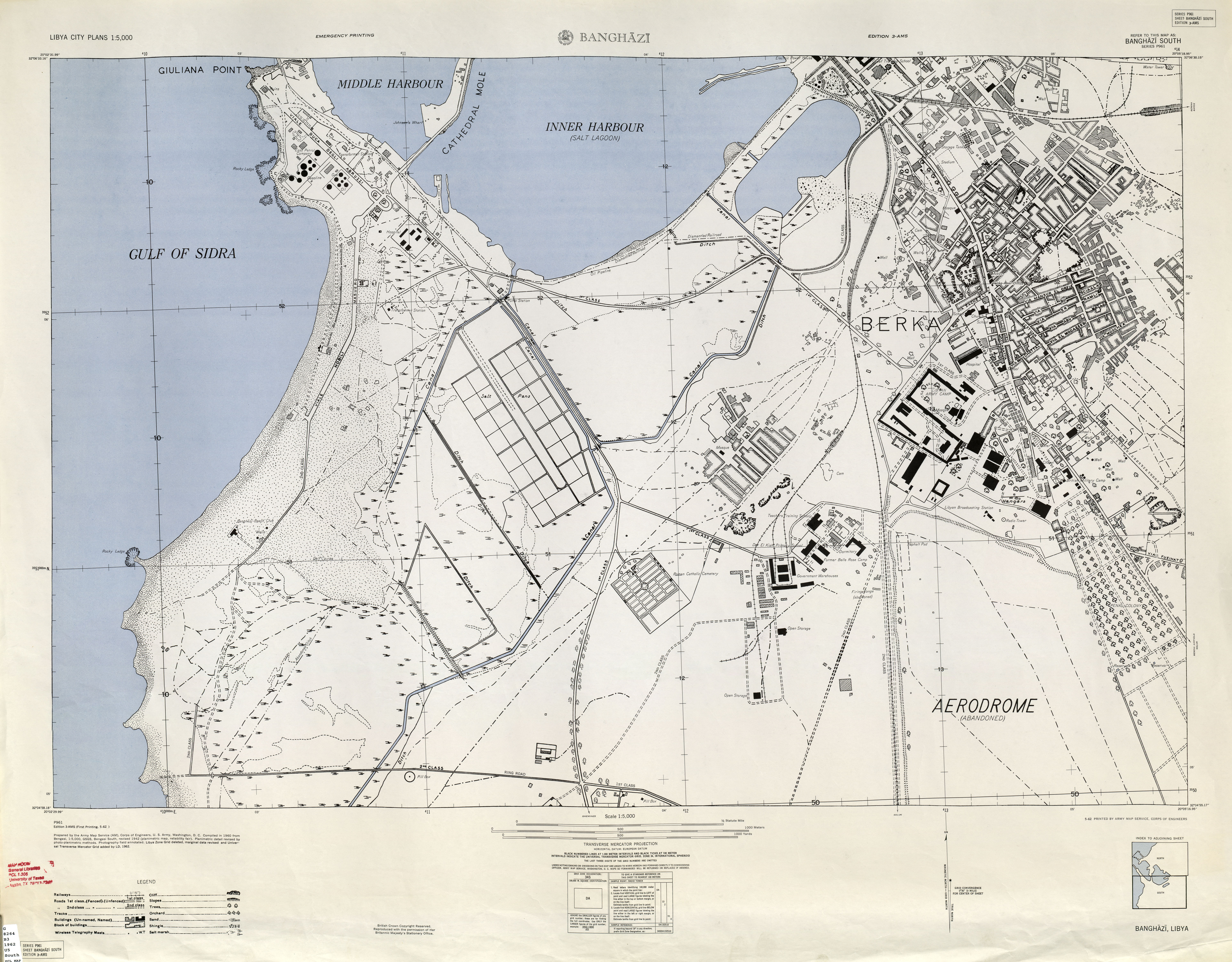 Libya Maps PerryCastañeda Map Collection UT Library Online - Map us 1