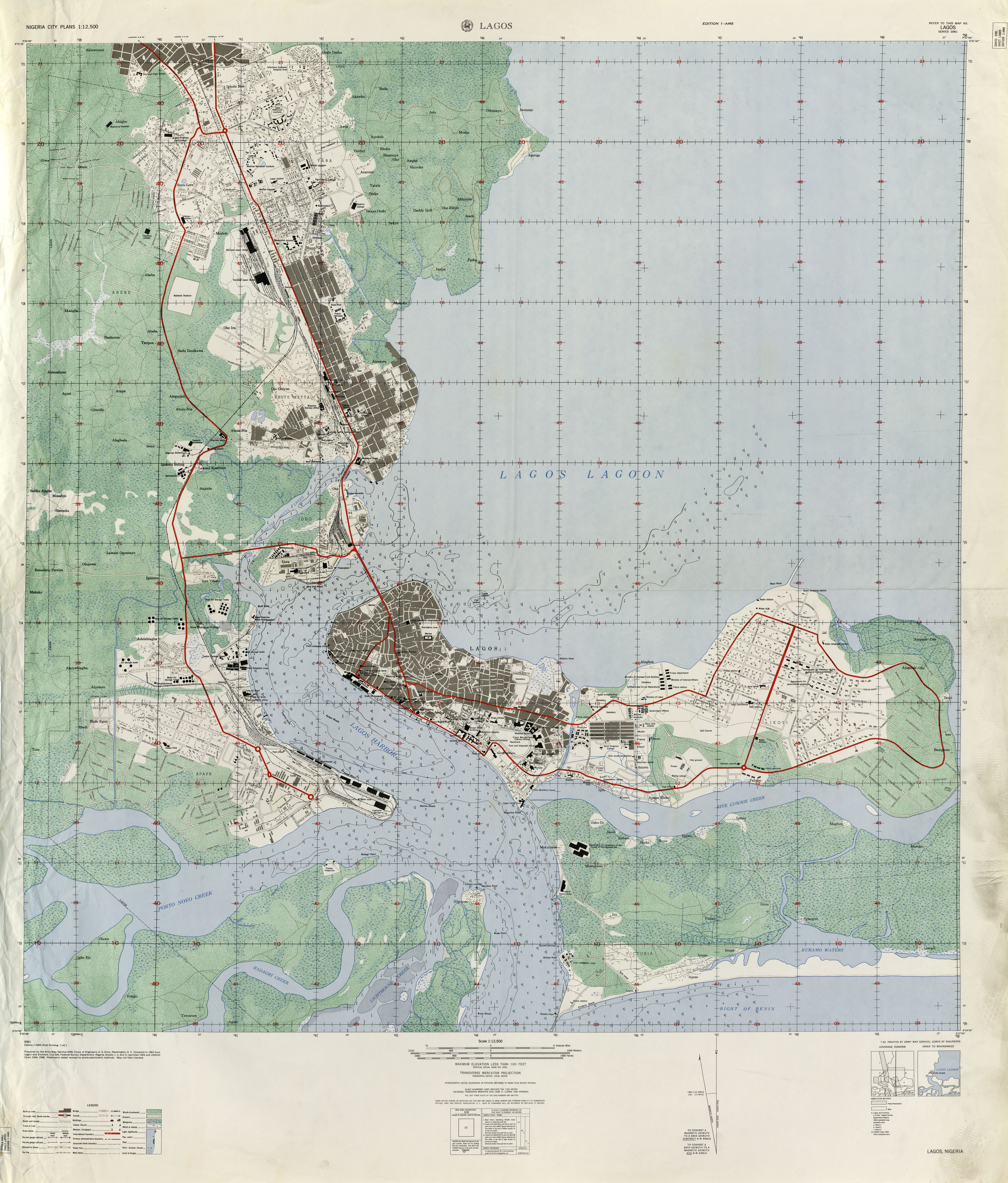 Nigeria Maps - Perry-Castañeda Map Collection - UT Library Online