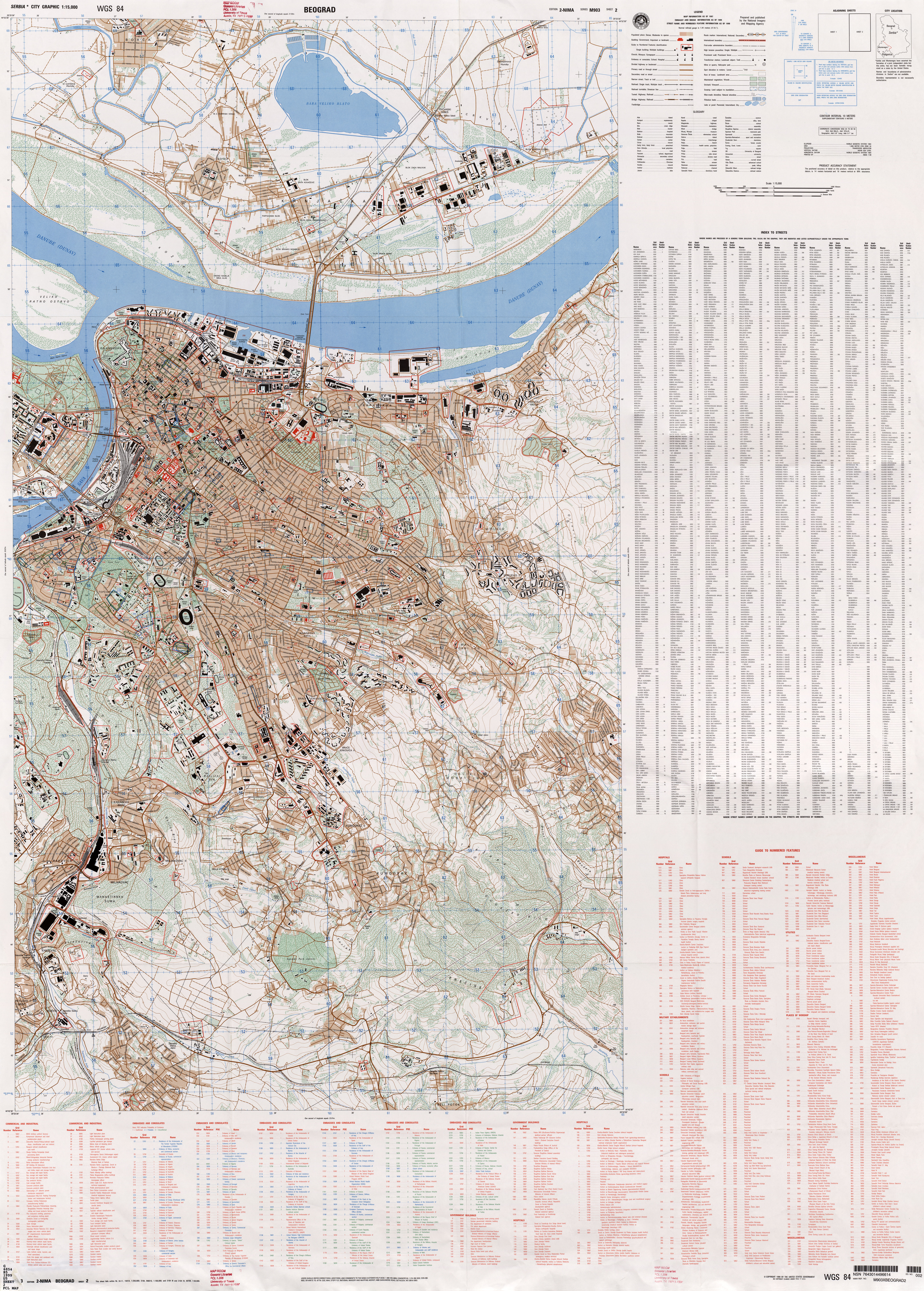 Serbia Maps - Perry-Castañeda Map Collection - UT Library Online
