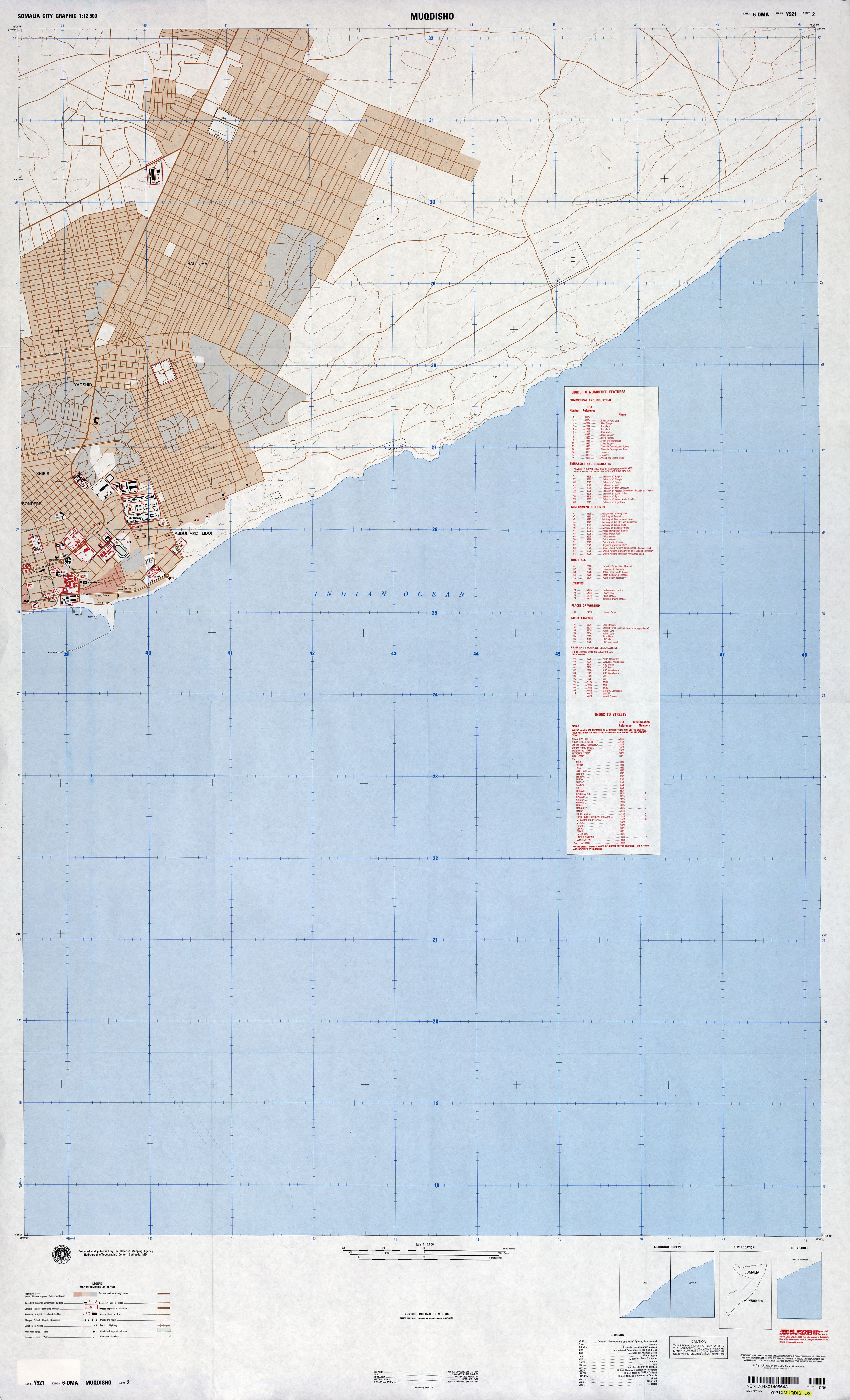 Somalia Maps PerryCastañeda Map Collection UT Library Online - Us paper map thomas guide