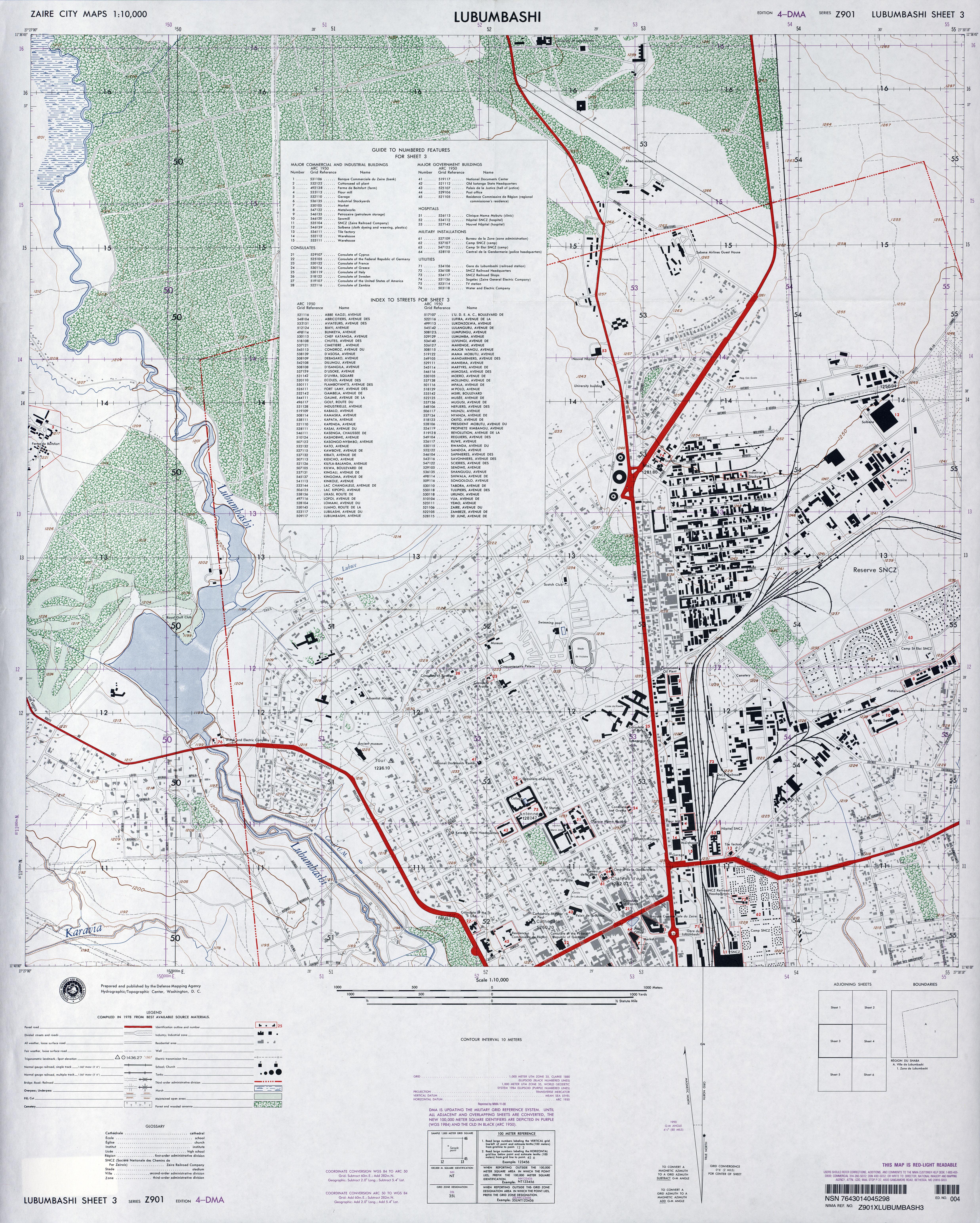 Congo Democratic Republic Maps PerryCastañeda Map Collection - democratic republic of the clickable map