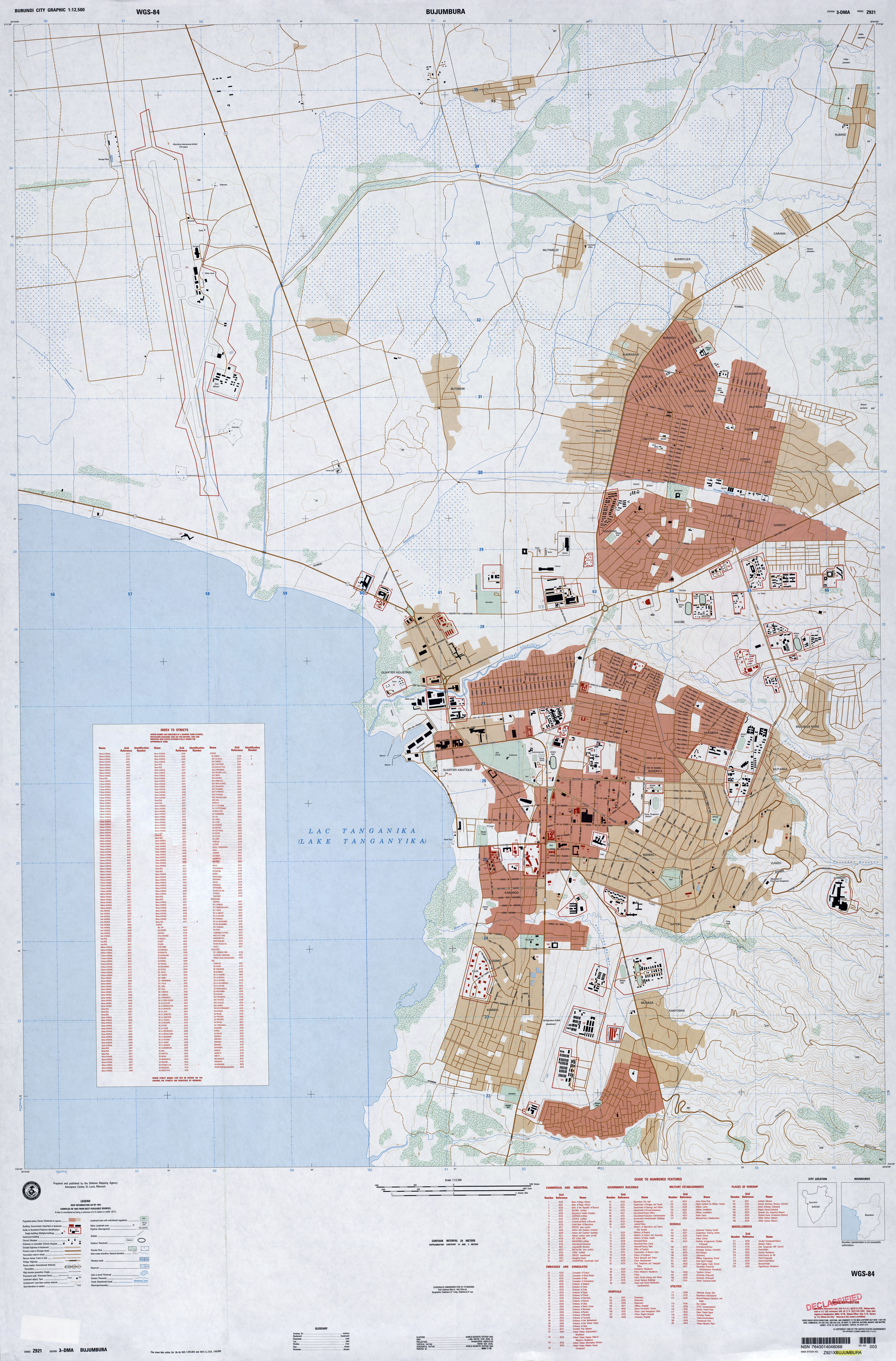 Burundi Maps Perry Castaneda Map Collection Ut Library Online