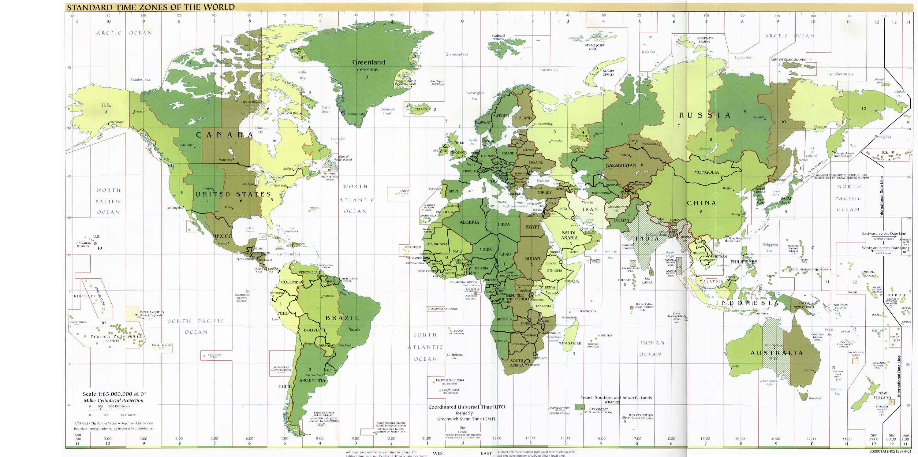 World maps perry castaeda map collection ut library online standard time zones of the world gumiabroncs Gallery