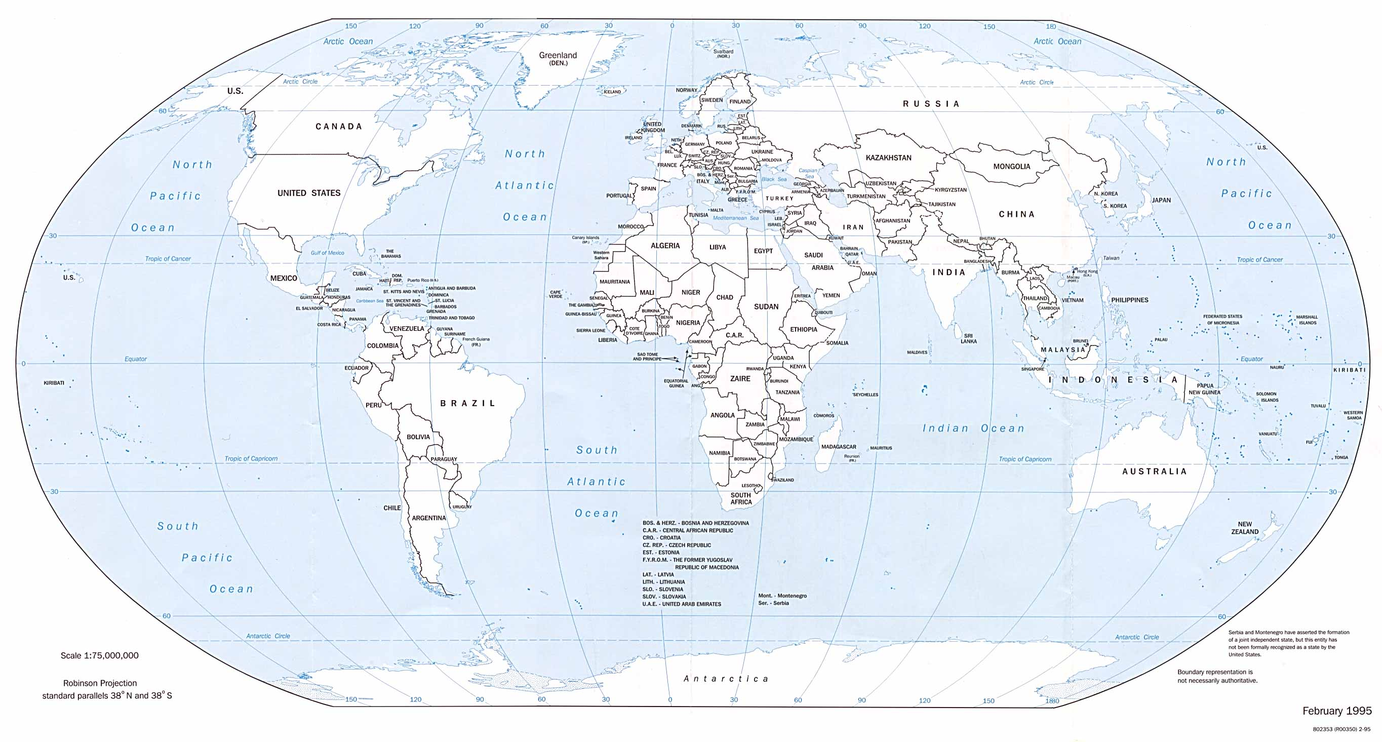 image relating to World Map Printable Pdf named Worldwide Maps - Perry-Castañeda Map Assortment - UT Library On the web