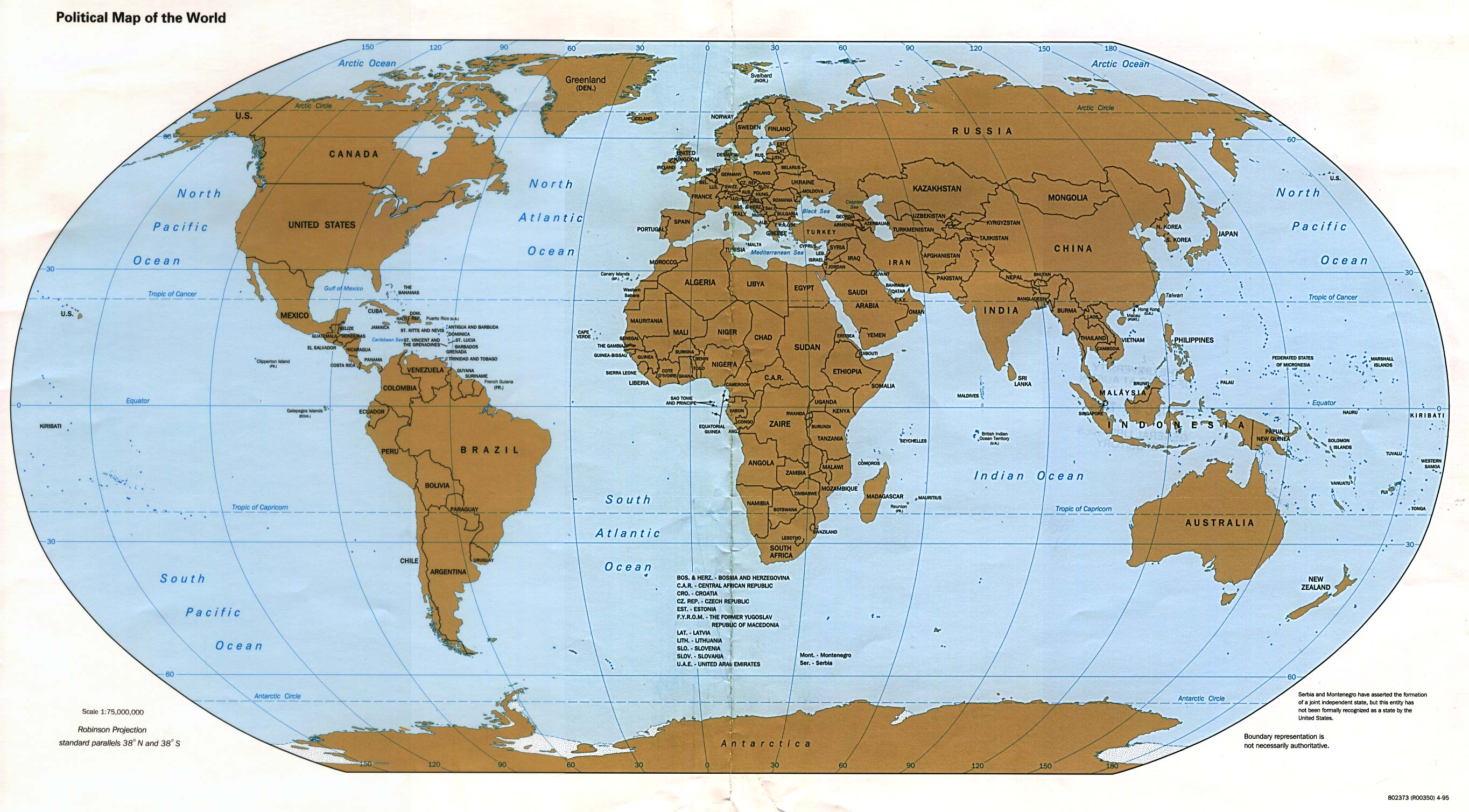 World - World Map Picture