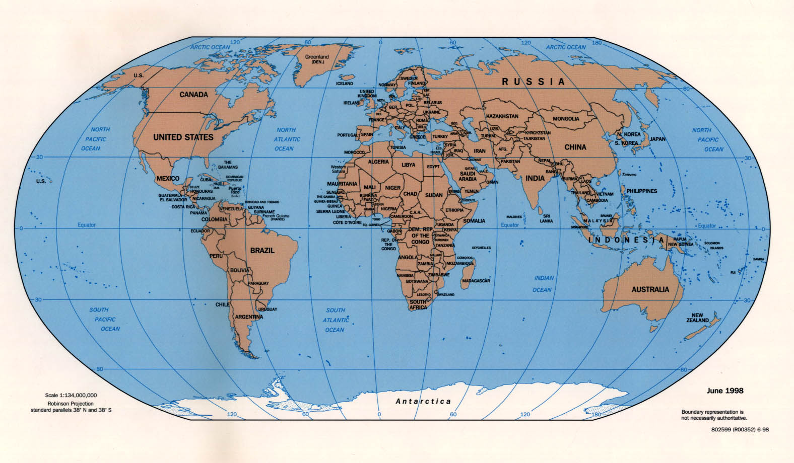 Map Of The Whole World Labeled.World Maps Perry Castaneda Map Collection Ut Library Online